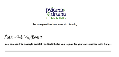 Example script for Role Play Demo 2.pdf