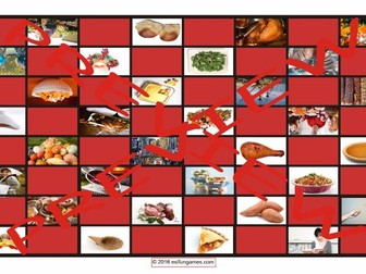 Thanksgiving Checkerboard Game