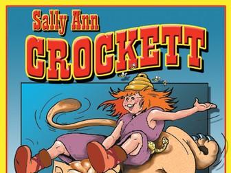Sally Ann Crockett: Read & Color