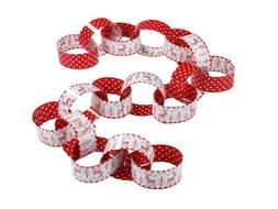 Christmas Paper Chains (IGCSE Maths Revision, or any topic you like!)
