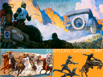 American West ~ Art History ~ Western Art ~ Art ~ 203 Slides