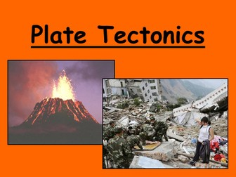 Introduction to tectonics including plate tectonics jigsaw!