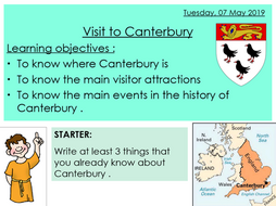 Canterbury Trail - Fieldtrip trail booklet and two lessons