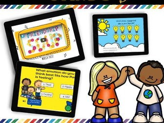 Social Personal and Health Education  BOOM CARDS Bundle