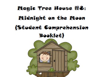 Magic Tree House Book 8: Midnight on the Moon Reading Comprehension Packet