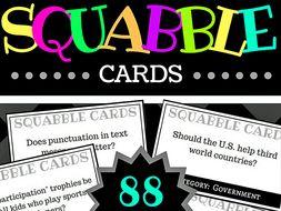 Squabble Cards, Secondary