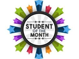 student of the month certificate by ca1993 teaching resources tes