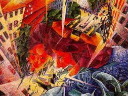 Futurism Described Explained In Quotes Images Of The Italian