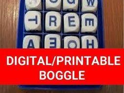 Digital/Printable Boggle Template (Editable on Google Slides) by ...