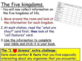 Unicellular or Multicellular? Year 8 Lesson PowerPoint (KS3 8Da) Unicellular Organisms topic