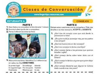 Consejo - Spanish Speaking Activity