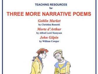 Three More Narrative Poems Scheme of Work