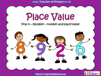 Place Value - Year 4