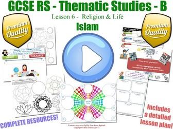 GCSE Islam - Religion & Life - Unit Overview [Abortion, Euthanasia &...] (Religious Studies - L6/7)