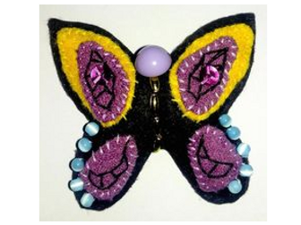 DT Planning Unit Year 3 Design and Make Fabric Butterflies using and developing sewing skills