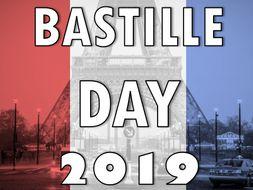 Bastille Day 2019 Pack – La Fete Nationale, French Revolution, Assembly  14 Juillet, Presentation,