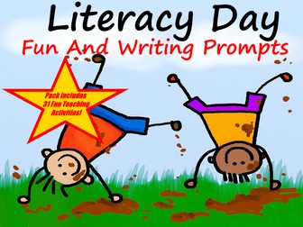 International Literacy Day Show + Creative Writing Prompts + 31 Fun Teaching Activities For Photos