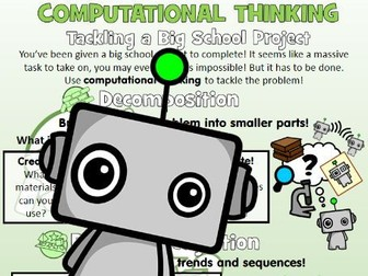 Application of Computational Thinking: Tackling Big School Projects