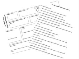 Chemistry Revision Mats and Questions (new AQA) by