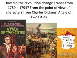 French Revolution Project - A Tale of Two Cities