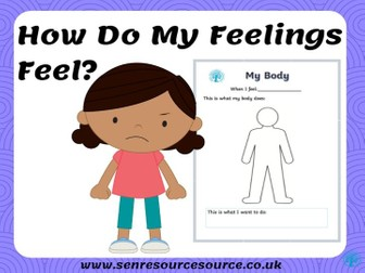 My Body Reactions Worksheet