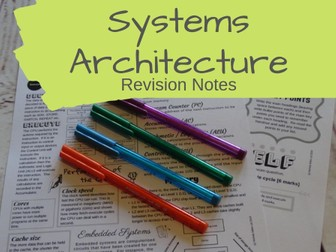 Systems Architecture Revision