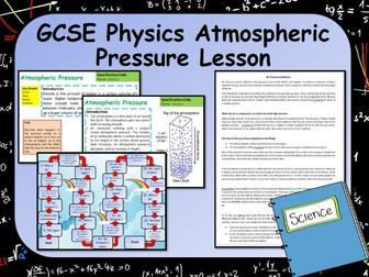 New AQA GCSE Physics Atmospheric Pressure Lesson