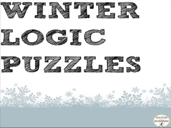 Logic Puzzles for Winter
