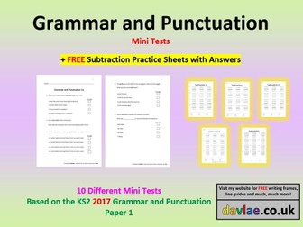 Grammar and Punctuation Mini-Tests 2