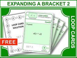 Expanding a Bracket 2 (Loop Cards)