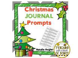 Christmas Journal:  25 Journal Writing Prompts
