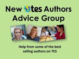 New TES Authors Advice