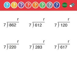Division: 3 digit by 1 digit with remainders. Dynamic PDF ...
