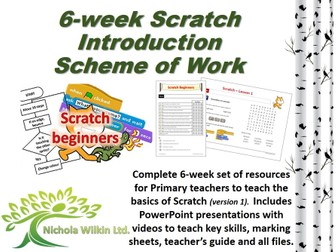 6 Week KS2 Scratch Primary SOW