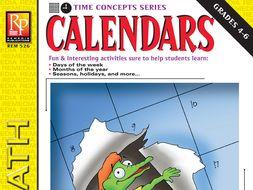 Calendars: Vocabulary & Time Concepts