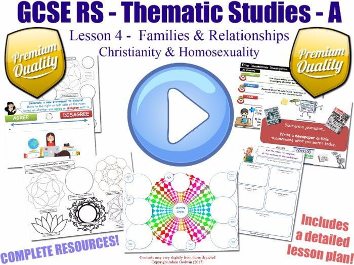Christianity and homosexuality tes