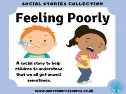 Sometime I feel Poorly Social Story