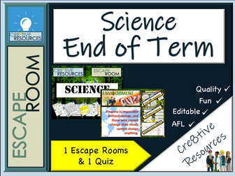 Science End of Year Escape Room