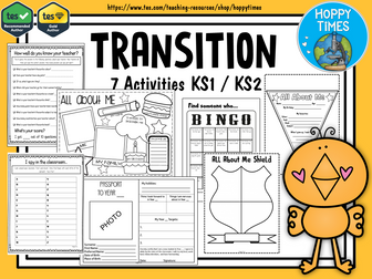 NEW CLASS /TRANSITION  ACTIVITIES