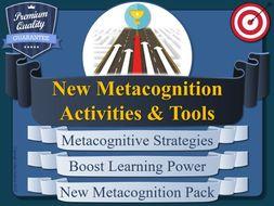 New Metacognition Tools & Activities