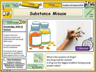 Substance Misuse - Drugs Education