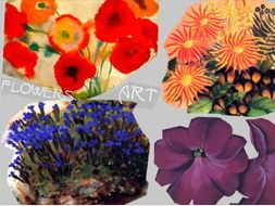 Flower Art ~ By Major Artists ~ Floral Art ~ Art History ~ 212 Slides