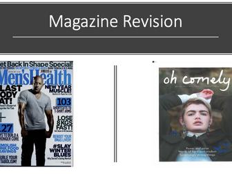 Media Studies A Level Magazine Revision AQA