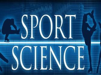 Cambridge National Sport Coursework