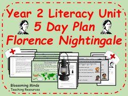 Florence Nightingale - Year 2 Literacy 5 day plan - History