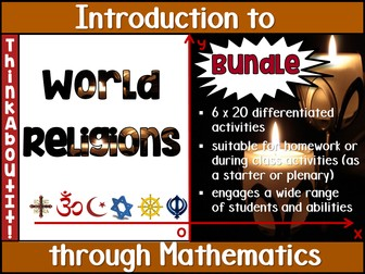 World Religions Activity Pack