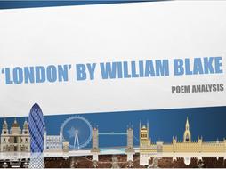 critical essay london william blake