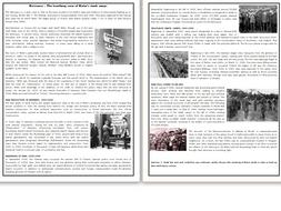 holocaust the horrifying story of hitler s death camps reading comprehension worksheet by. Black Bedroom Furniture Sets. Home Design Ideas