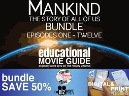 Mankind the Story of All of Us - (E01 - E12) Bundled Movie Guides SAVE 50%