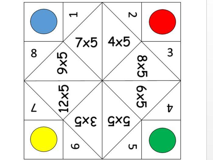 graphic regarding Fortune Teller Printable identify 5 days desk fortune teller printable